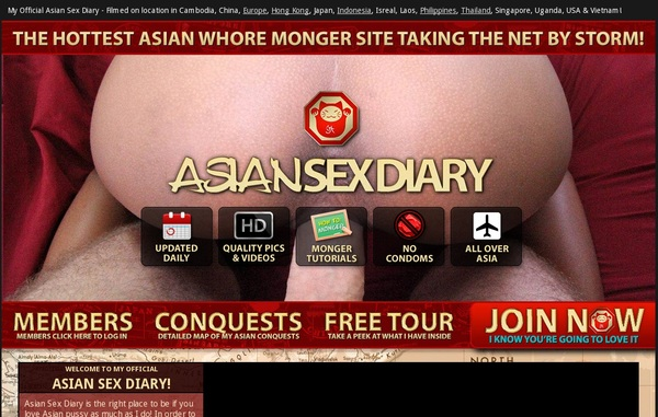 Free Asian Sex Diary Account Passwords