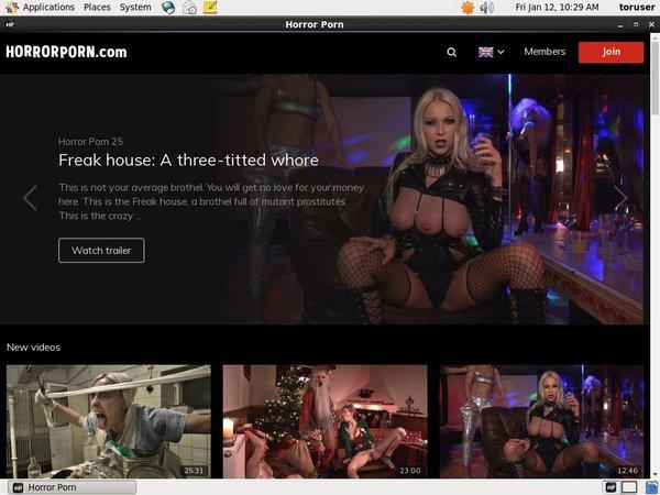 Horror Porn Free App