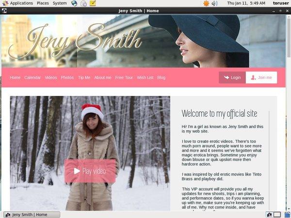 New Jenysmith.net Videos