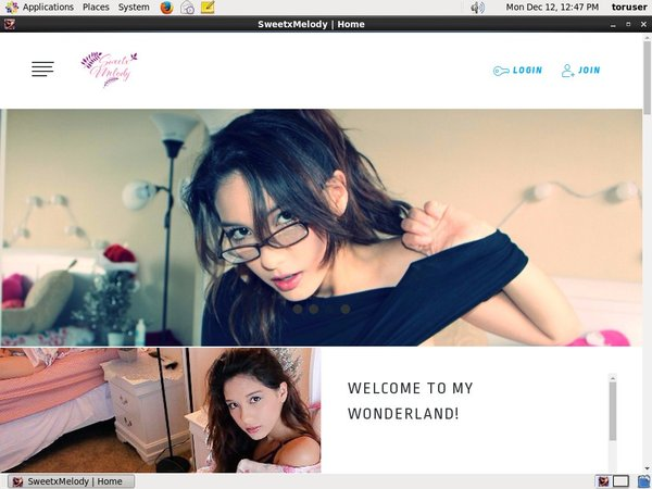 SweetxMelody Hacked Account