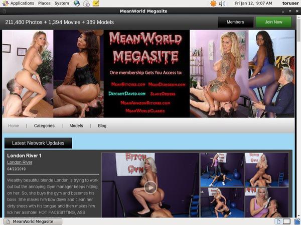 Free Mean World MegaSite Accs