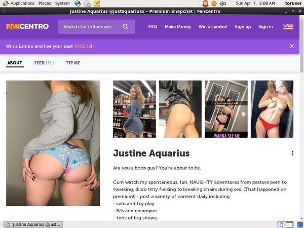 Justine Aquarius Hot Mom